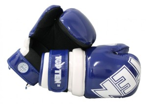 Rękawice Pointfighter Glossy Block - TOP TEN blue