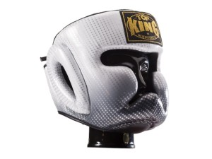 Kask bokserski sparingowy TOP KING SUPER STAR - TKHGSS-01SV