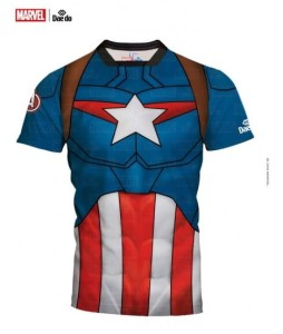 Rashguard Kapitan Ameryka - MARVEL DAE DO - MARV 52301