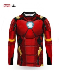 Rashguard Iron Man - MARVEL DAE DO - MARV 52105